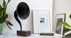 Bluetooth Gramophone is a perfect combination between a vintage record player and modern technology. Powered by a dual-driver allows you to fully experience quality music delivered through a gramop…