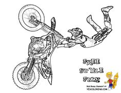 yamaha 50 dirt bike coloring page google search dirt bike party pinterest dirt biking and diy art