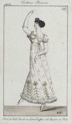 1808, copie, costumes parisiens, SceneInThePast