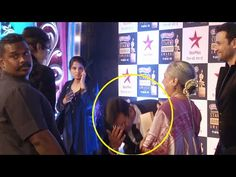 RESPECT ! Ronit Roy touches Amitabh Bachchan's feet at Star Screen Awards 2016.