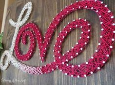 Who doesn't love this Love String Art Kit. In a matter of fact, show some love for this Love String Art! Repost it, tell your friends and family about it, and go string it for yourself because it is a #ArtsandCraftsProjects