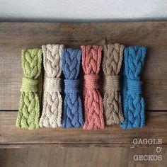 三つ編み模様のヘアバンド 6colors /for baby <HBb150328>