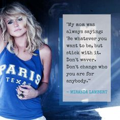 Miranda Lambert is the best!!