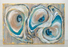 Oyster Painting by CaseyLangteauArt on Etsy