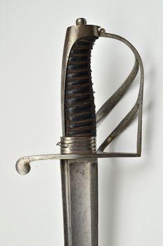 Offizierssäbel der leichten Kavallerie (Chevauxlegers), Bayern, um 1800 Detailansicht [Zeitzer Straße 4]