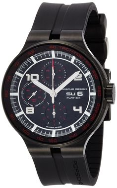 Shop Porsche Design Flat Six Automatic Chronograph PVD Coated Steel Mens Watch Calendar ✓ free delivery ✓ free returns on eligible orders. Chronograph, Porsche Design, Omega Watch, Watches For Men, Accessories, Men's Watches, Jewelry Accessories