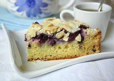 Jane's Sweets & Baking Journal: All Happiness Depends on Blueberry Cream Cheese Coffee Cake . . .