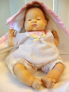 """VOGUE DOLLS ~RARE ~BABY DEAR DOLL 12"""" ~DRESSED ORIGINAL CLOTHES"""