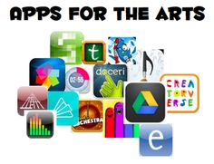 I checked some of the art aps out.mj Word Document with Apps for Music, Art, and Drama teachers as well we Classroom Management and Generally Awesome everything apps. Teaching Theatre, Teaching Music, Teaching Technology, Educational Technology, Technology Integration, Apps For Teachers, Teacher Apps, Music Teachers, Drama Teacher