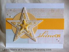 Shine On Star Card