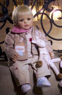 Fabian by Bettine Klemm for Gotz Dolls