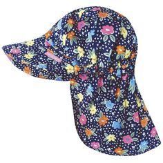 fb1acc7dda6c7 Girls Cotton Rich Flap Sun Hats, Baby Sun and Swimwear, Baby Clothes Kids  Swimming