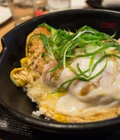 Yabu Rosu Katsudon set - yum!!! So hearty :)