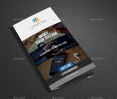 It's a Modern Tri Fold Brochure Template Design for Any types of companies. It is made by simple shapes Although looks very professional. Easy to modify, change colors, dimensions, get different combinations to suit the feel of your event. Features: 300 DPI, CMYK Color Mode, Print Ready File, Well Customized [...]