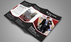Travel Tri Fold Brochure New by Creative Design on Creative Market