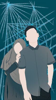 Book Cover Background, Wattpad Background, Wedding Couple Cartoon, Love Cartoon Couple, Ukulele Art, Cute Love Images, Cute Muslim Couples, Islamic Cartoon, Anime Muslim
