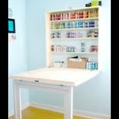 Martha Stewart Living Craft Space Collapsible Craft Table