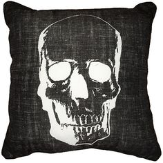 Halloween Skull Decorative Pillow