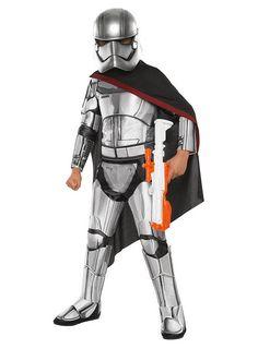 Star Wars 7 Captain Phasma Kids Costume