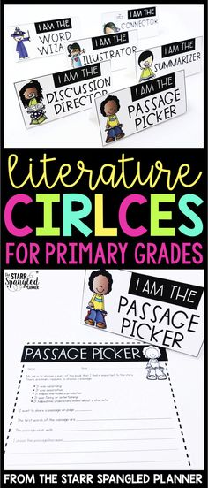 Literature Circles, or Book Clubs are one of my favorite ways to engage students in reading. Get your kids independently talking about books while you meet with your guided reading groups. These activities are perfect for first grade, 2nd, 3rd and 4th!