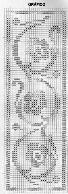 This Pin was discovered by Şir Crochet Mandala Pattern, Crochet Cross, Crochet Stitches Patterns, Doily Patterns, Tapestry Crochet, Crochet Chart, Filet Crochet, Crochet Designs, Crochet Doilies