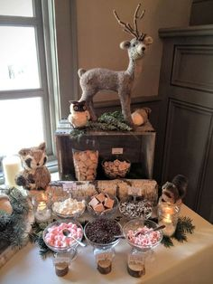 Woodland Animals Baby Shower Party Ideas | Photo 6 of 99 | Catch My Party