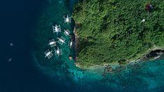 HD wallpaper: aerial photography of island near the ocean, boat, sailing, transportation Dive Resort, Clear Lake, Philippines Travel, Manila Philippines, Island Resort, Travel Images, Cebu, Aerial Photography, Beach Resorts