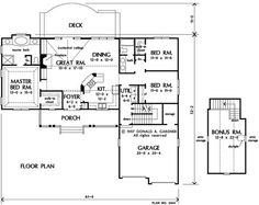 The griffin house layout