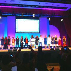 #blogher12 Voices of the Year. Amazing people and stories. We love you all!