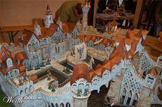 elf elven harbour fantasy