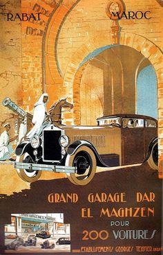 Grand garage Dar El Maghzen - Maroc Désert Expérience tours http://www.marocdesertexperience.com