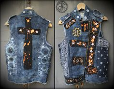 Custom Designed Fitted Distressed Destroyed Star by EFXCustomWear