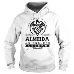 I Love  ALMEIDA T shirts