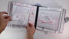 DannyCraftShop - Scrapbook Handmade Wedding Mini Album #16 *SOLD*