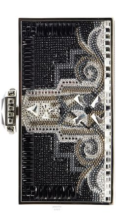 ~Judith Leiber Couture 30 Rock Perfect Rectangle Clutch Bag | The House of Beccaria#