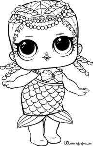 Merbaby Lol Surprise Doll Coloring Sheet Unicorn Coloring Pages Mermaid Coloring Pages Mermaid Coloring