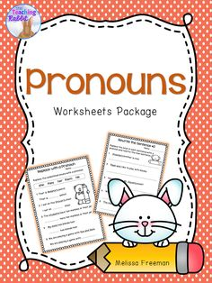 These pronouns worksheets for first and second grade contain fun activities to help reinforce the concept.