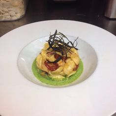 Orecchiette al polpo con pomodorini confit.  #food #italianfood #arlu #ristorantearlu #italianrestaurant