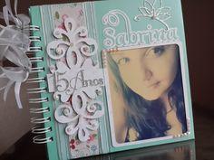 """Livro Provençal """"Tiffany"""" 15 Anos   Marlene Artesanatos   Elo7"""