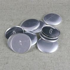 Lot 5 boutons recouvrir 38 mmm Covered Buttons
