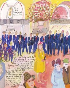 "Maira Kalman ""Mad About the Met"" in Departures, May/June '08"
