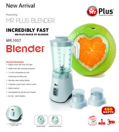 One more to the blender gang - Mr.Plus - Something for everyone