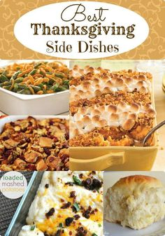 Whether you are in charge of one side dish or all of them, here is a list of some of the Best Thanksgiving Side Dishes I have come across.