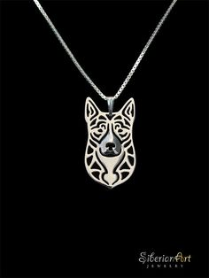 Hey, I found this really awesome Etsy listing at https://www.etsy.com/listing/117131617/australian-cattle-dog-sterling-silver