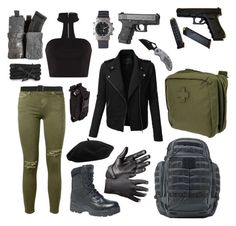"""""""5.11 Tactical"""" by alice-jaycrew ❤ liked on Polyvore featuring LE3NO, Current/Elliott, 5.11 Tactical, Monza and Goorin"""