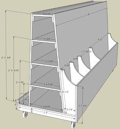 MonoLoco Workshop: Wood Storage Cart