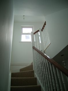 Staircase options for my new loft conversion says Jackson Loft Conversion Brighton & Hove East Sussex Bungalow Loft Conversion, Loft Conversions, Brighton Sussex, Brighton And Hove, Bespoke Staircases, Loft Stairs, Newel Posts, Beach Wood, Roof Window