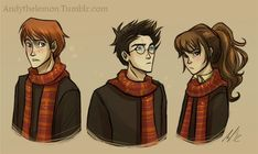 Golden Trio by ~AndreaXXX on deviantART