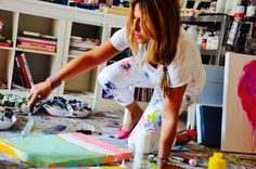 Artist Kerri Rosenthal  > rad photography of arts space and artists and studio