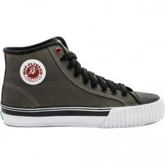 PF-Flyers Center Hi Canvas Men?s (Charcoal/Maroon)